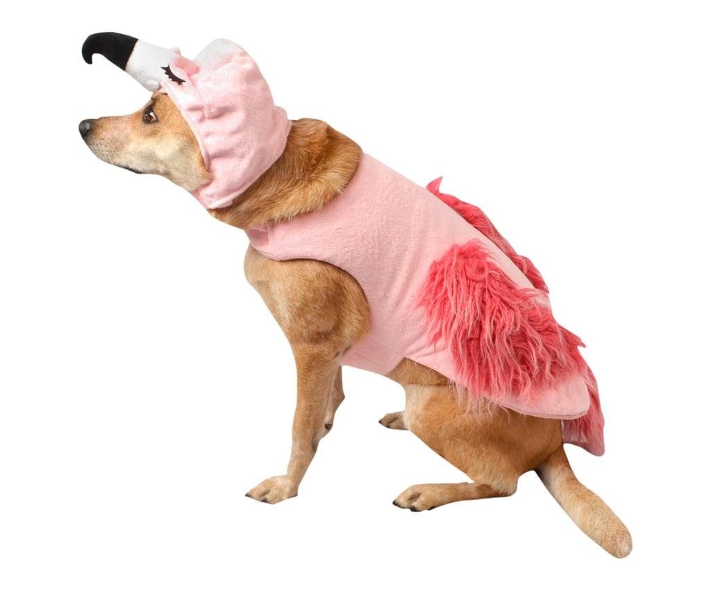 flamingo | dog halloween costumes 2018 | popsugar family photo 14