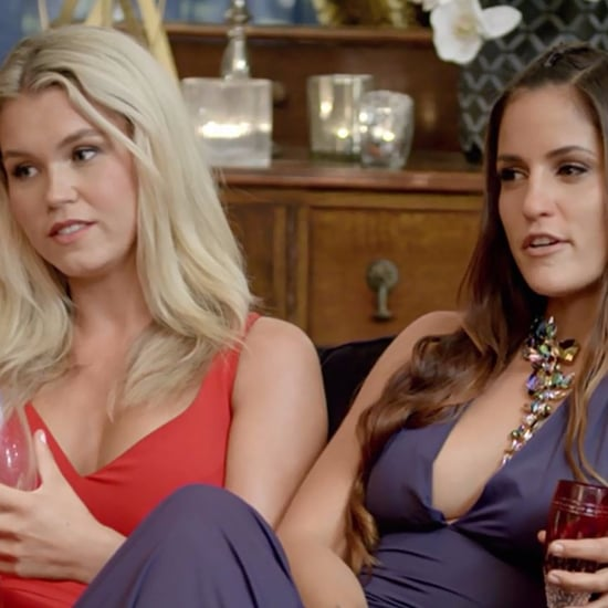 Elora and Simone Fight With Jen and Leah The Bachelor 2017