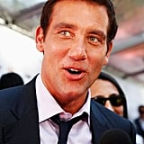 Clive Owen on the red carpet.