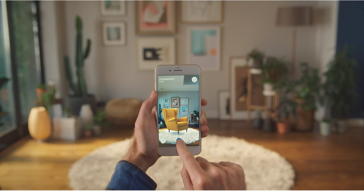 PopsugarLivingIkeaIkea's Augmented Reality Home Decorating AppIkea's New App Will Make 1 of Your Wildest Home-Decorating Dreams Come TrueSeptember 29, 2017 by Victoria MessinaFirst Published: September 20, 201795 SharesChat with us on Facebook Messenger. Learn what's trending across POPSUGAR.We've all been there: You get an itch to totally revamp the layout of your bedroom or living room, but just the thought of lifting and dragging your heavy couch or bed actually makes your arms ache. Sound familiar? Thankfully, this is 2017, and we have a phone app for everything from virtual matchmaking to doorstep dumpling delivery, so it comes as no surprise that home decorating is the next topic to get the app treatment. Ikea has officially launched a free app that lets you experiment with your home decorating skills with just the flick of a finger, and just the thought of this is getting us psyched to try it out. Dubbed Ikea Place, the app allows you to virtually place large pieces of Ikea furniture (think: sofas, arm - 웹