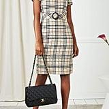 Burberry Nova Check Wool Dress