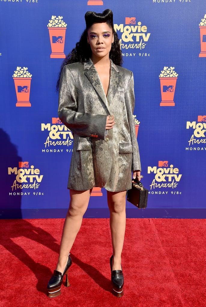 Tessa Thompson at the MTV Movie & TV Awards