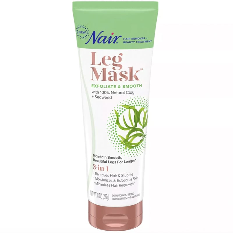 Nair Leg Mask Exfoliate + Smooth With Seaweed