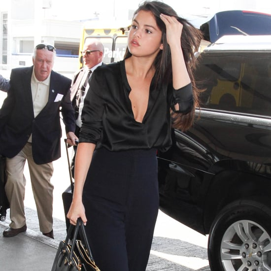 There's Not an Ounce of Boring in Selena Gomez's All-Black Look