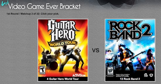 Pick the Best Video Game of All Time on GeekSugar 2009-09-10 03:50:45