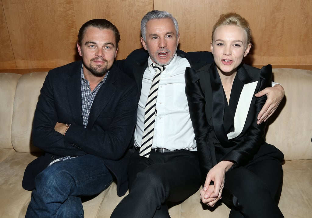 Leonardo DiCaprio met up with Baz Luhrmann and Carey Mulligan at a Great Gatsby screening in NYC.