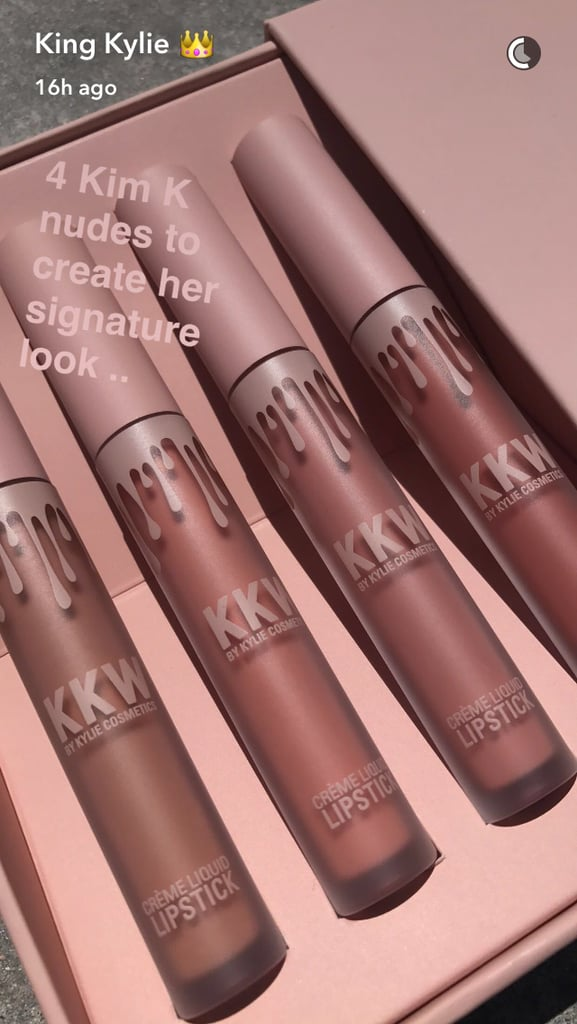 Kylie Jenner Just Revealed the Colours in the Kim Kardashian Collaboration — and They're SO Sexy