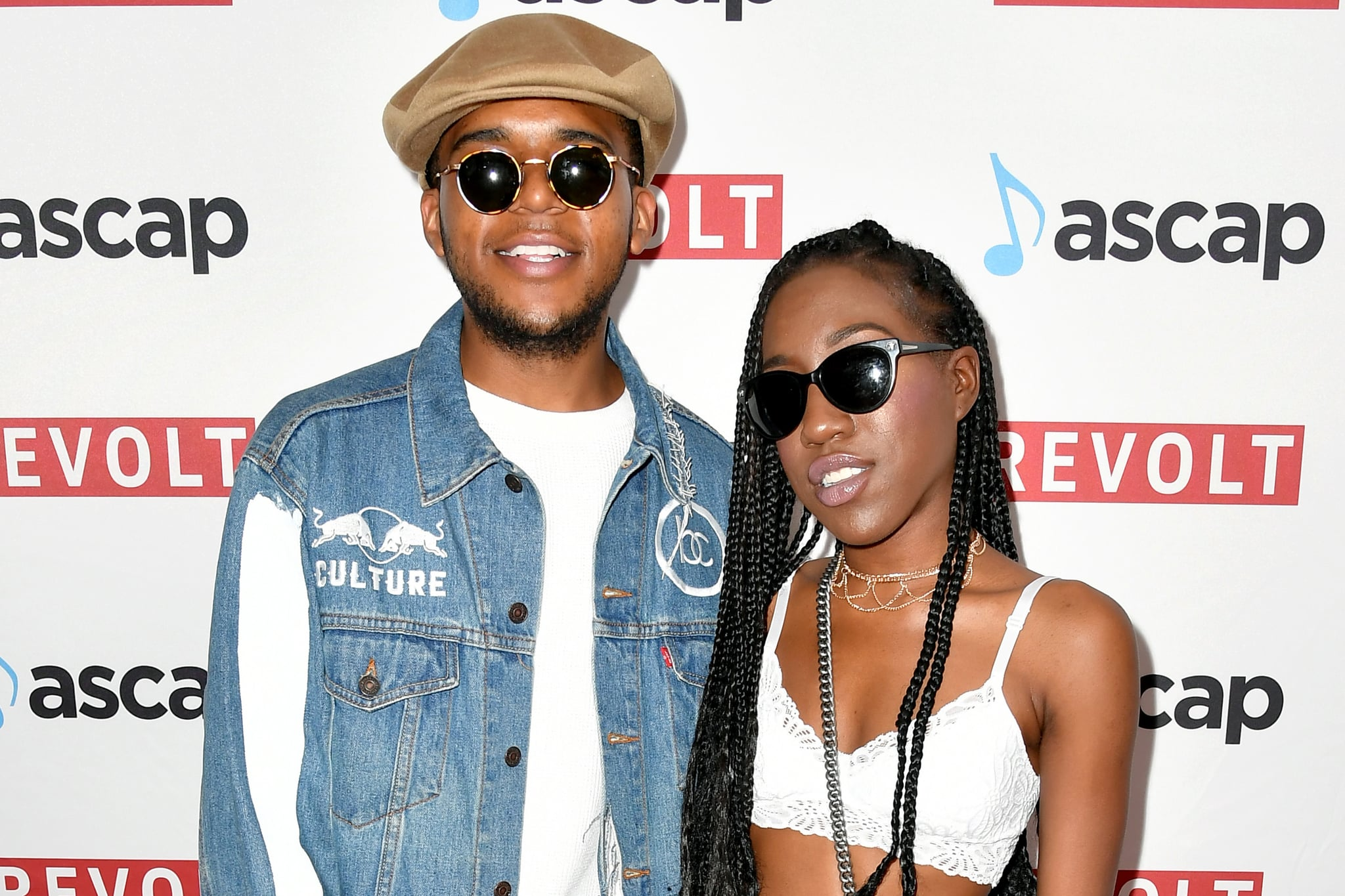 BEVERLY HILLS, CA - JUNE 22:  C.J. Wallace (L) and T'yanna Wallace at the ASCAP 2017 Rhythm & Soul Music Awards at the Beverly Wilshire Four Seasons Hotel on June 22, 2017 in Beverly Hills, California.  (Photo by Earl Gibson III/Getty Images for ASCAP)