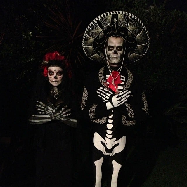 Josh Duhamel and Fergie as a Day of the Dead Couple | Best ...