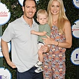 Mark-Paul and Catriona brought their son to the Safe Kids Day event in LA in April 2015.