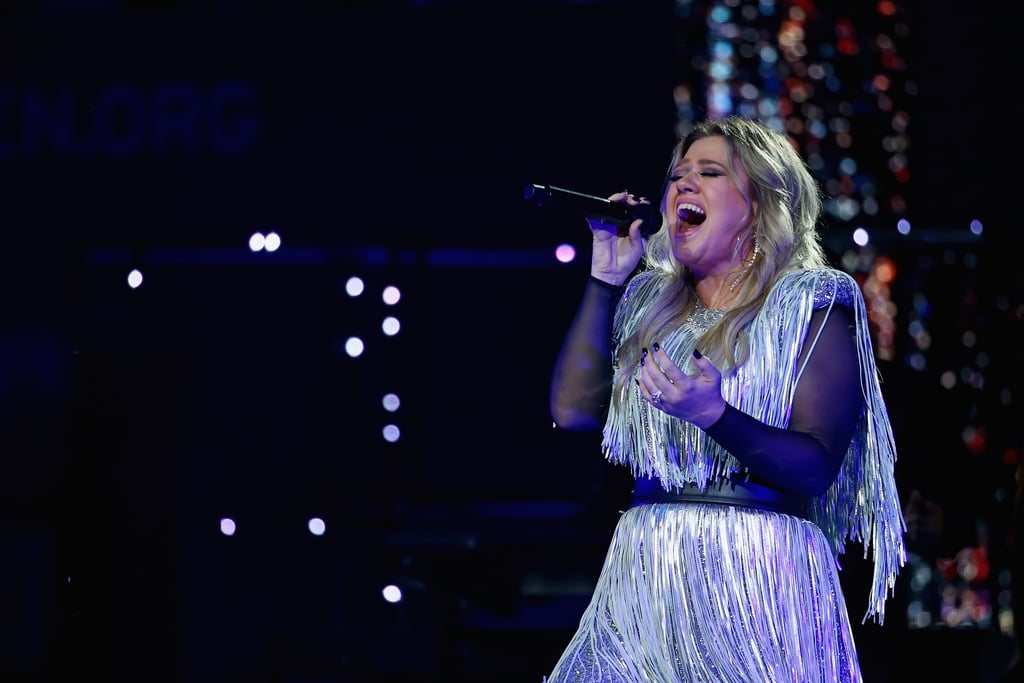 Reactions to Kelly Clarkson\'s 2018 US Open Performance | POPSUGAR ...