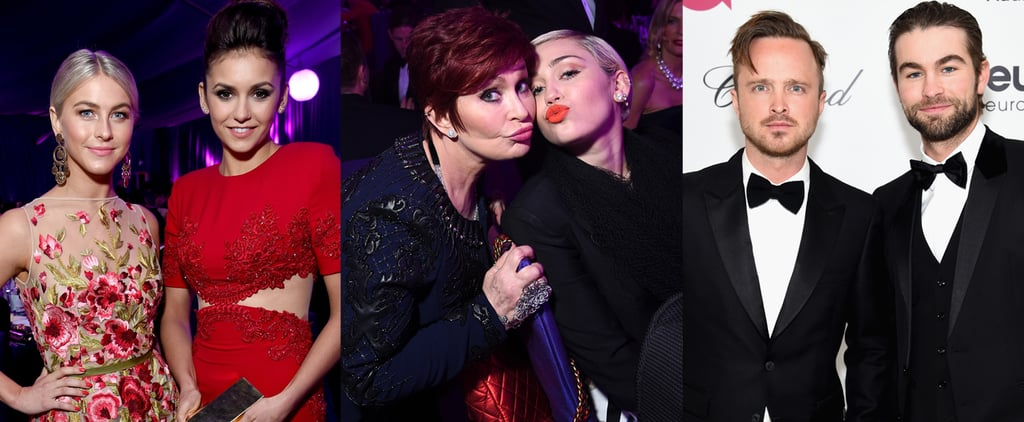 The Oscars Party Started at Elton John's Star-Studded Bash