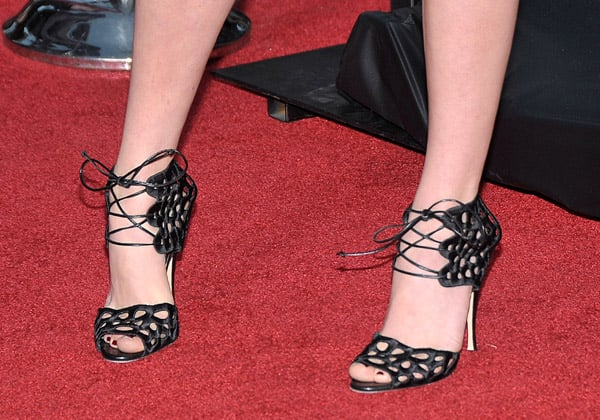 Guess Who is Wearing Brian Atwood