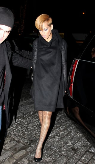 Rihanna and Blake seen leaving SNL Afterparty