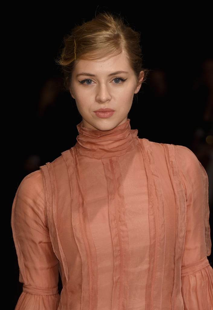 Hermoine Corfield at Burberry