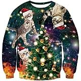 Uideazone Unisex Ugly Christmas Sweatshirt