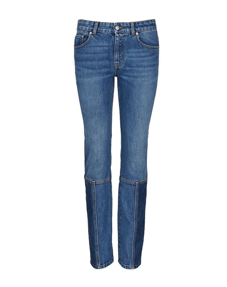 Alexander McQueen Patchwork Jeans ($695)
