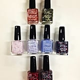 The brand spankin' new Glitterati range from Face Of Australia. They're coming this month, and they're only $4.95 a pop!