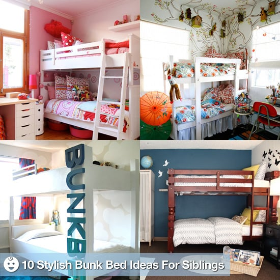 Design Tips For Bunk Beds In Kids 39 Bedrooms POPSUGAR Moms