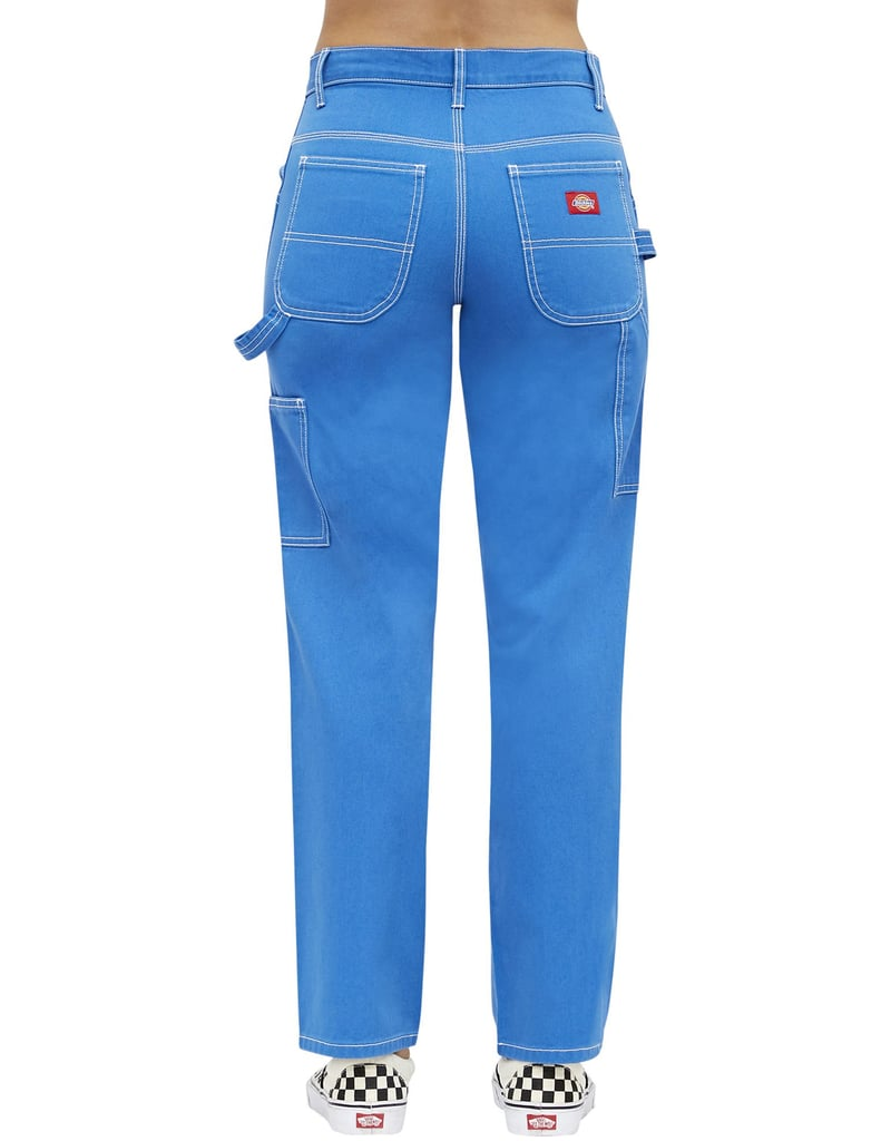 Dickies Girl Juniors' Relaxed Fit Carpenter Pants, Electric Blue ($50)