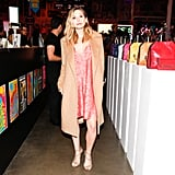 Elizabeth Olsen Checked Out the Colorful Handbags