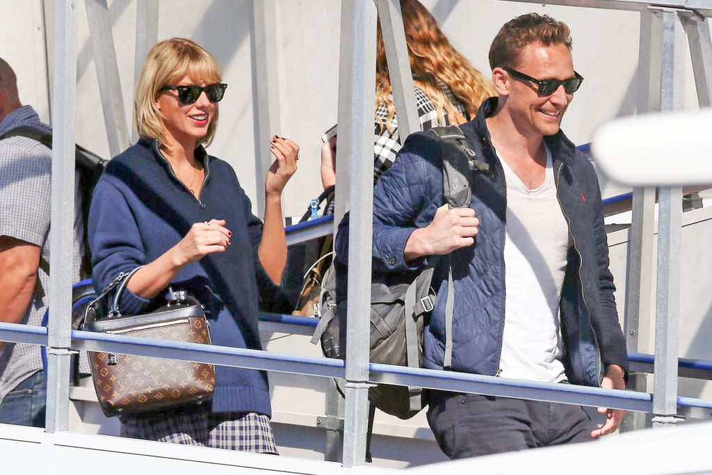 Taylor Swift and Tom Hiddleston at LAX Photos July 2016