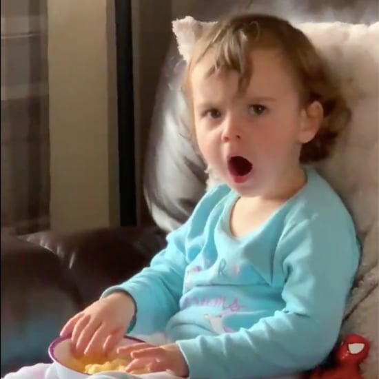 Little Girl's Reaction to the Hulk | Video