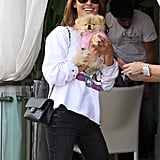 Audrina Hangs Around Hollywood With Another Rising Star, Giggy!