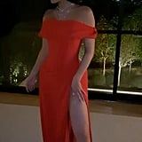 Kylie Jenner's Red Oscars Afterparty Dress Is So Sexy