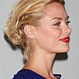 Pictures of Jaime King's Braided Updo