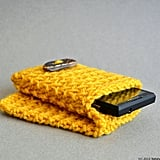 Knit iPhone Pouch