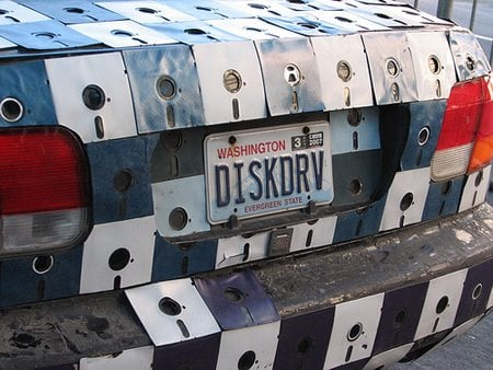 1998 Honda Civic Gets Floppy Disk Body Job