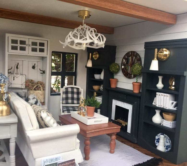 Fixer Upper Dollhouse Popsugar Family