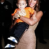 Beyonce and Nephew Julez Smith Photos