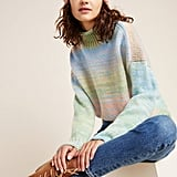 Willa Space-Dyed Turtleneck Sweater