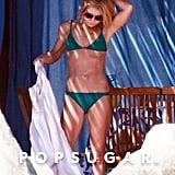 Kelly Ripa showed off her bikini body in the shade.