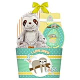 16-Inch Sloth Baby's 1st Filled Basket ($13)