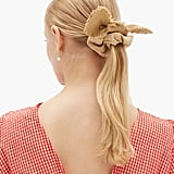 House of Lafayette Bambou Bow Linen Scrunchie