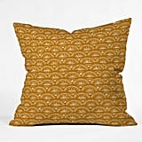 Joy Laforme Moroccan Fan Throw Pillow