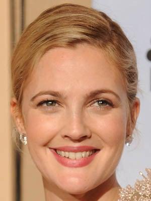 Drew Barrymore at the Golden Globes Makeup Tutorial