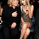 2010: Taylor Brought Her Mom as Her Date