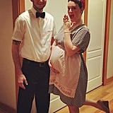 '50s Housewife and Milk Man
