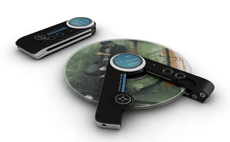 Concept Player Makes Use Of Your MP3s And CDs