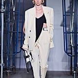An '80s-Inspire Suit From the Proenza Schouler Runway at New York Fashion Week