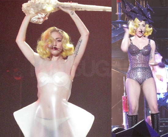 Pictures of Lady Gaga on Stage in Nottingham, UK Tour