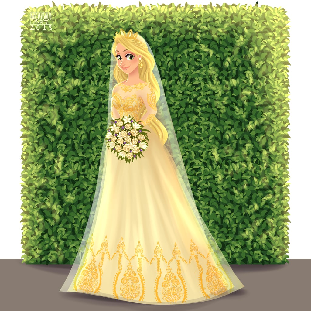 At Last, We See the Light, Thanks to Rapunzel's Wedding Dress