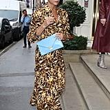 Victoria Beckham's Leopard-Print Dress September 2018