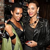 Solange and Beyoncé Knowles