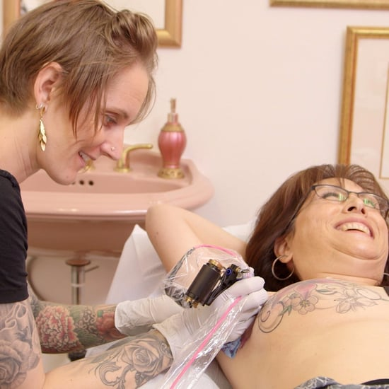 Mastectomy tattoo artists