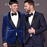 Jwan Yosef and Ricky Martin at the 2019 LACMA Art + Film Gala